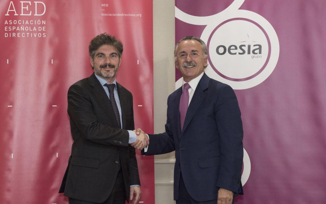 El Grupo Oesía se convierte en nuevo socio corporativo de la AED