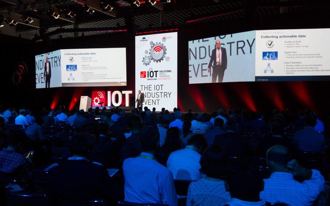 IOT Solutions World Congress y AED colaboran por la innovación.