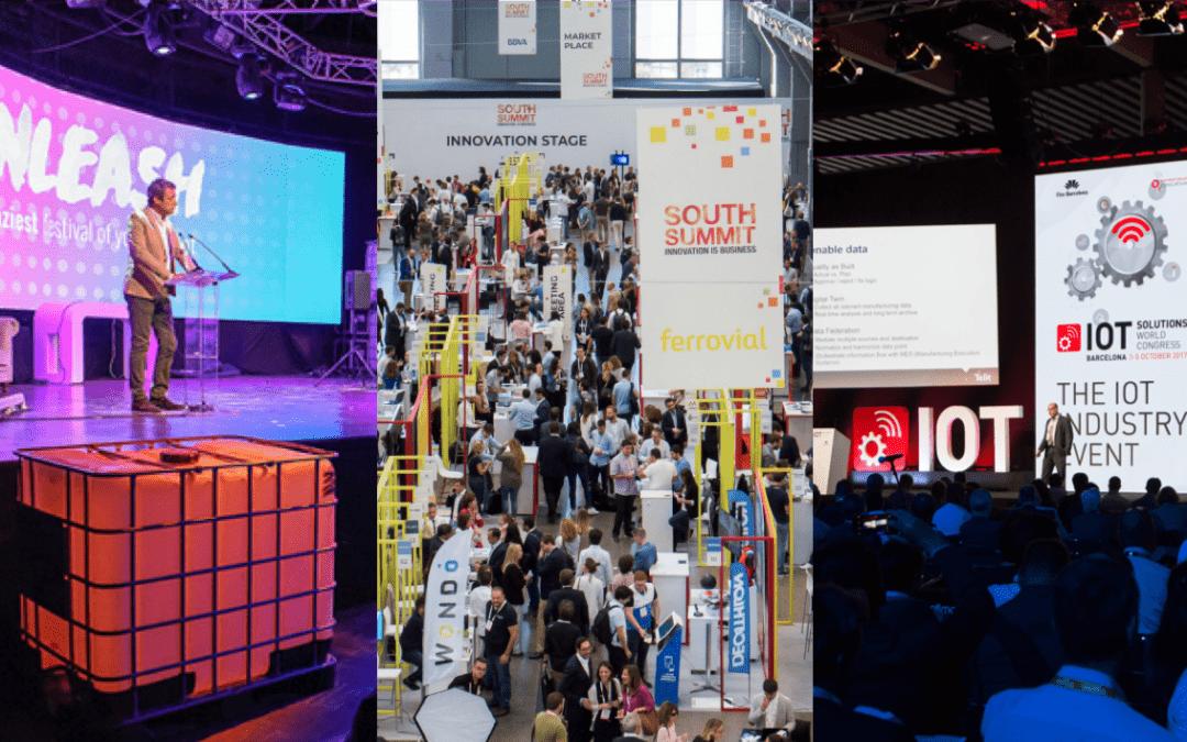 AED se alía con el Festival Unleash, South Summit y IOT Solutions World Congress para beneficiar a los miembros de la Asociación