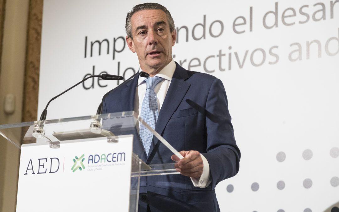 Juan Antonio Alcaraz: «Tenemos que dar un mensaje positivo y optimista»
