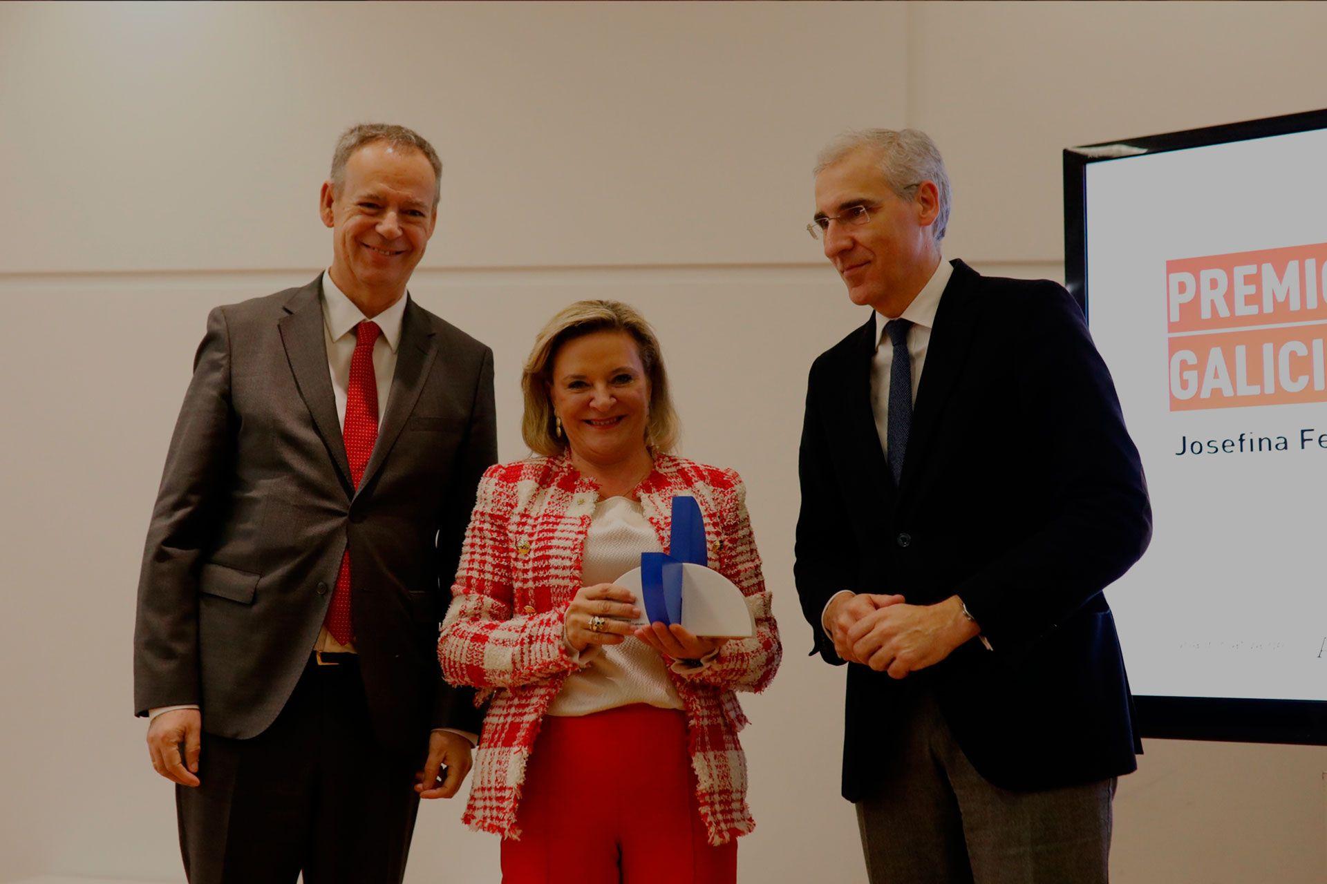osefina Fernández, CEO de DomusVi, recibe el Premio Galicia Global 2019