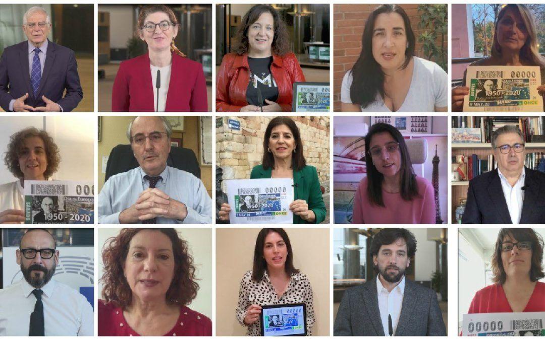 Las instituciones europeas reconocen la labor del Grupo Social ONCE